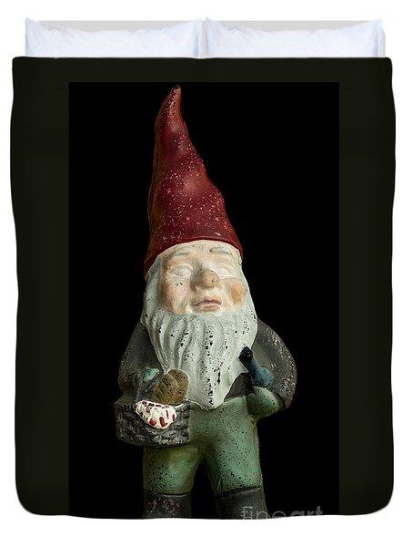 Garden Gnome Duvet Cover