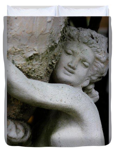 Garden Goddess Duvet Cover