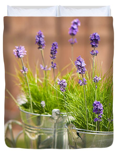 Garden Lavender Duvet Cover