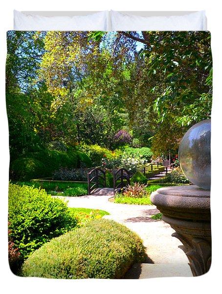 Garden Of Wishes Duvet Cover