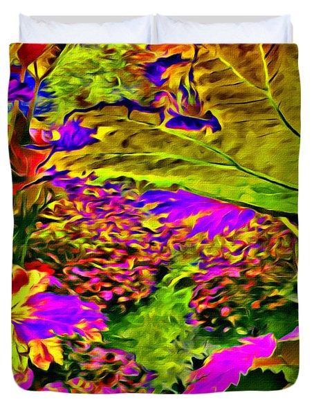 Garden Of Color Duvet Cover