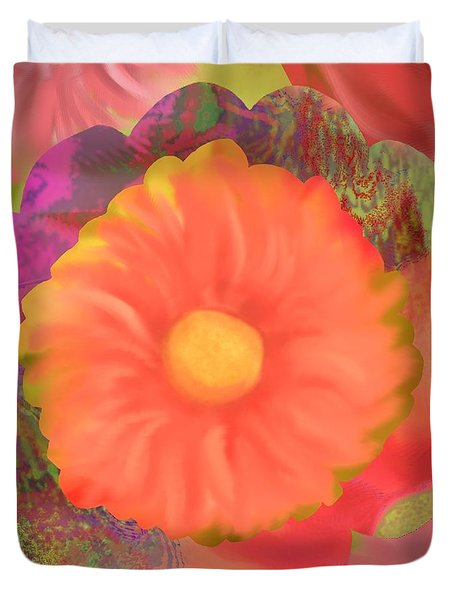 Garden Party IIi Duvet Cover by Christine Fournier