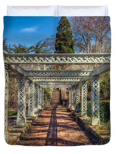 Garden Path Duvet Cover by Adrian Evans