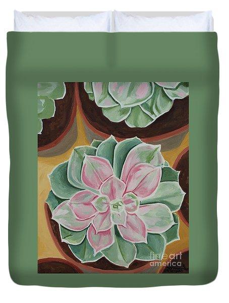 Garden Rossette Duvet Cover