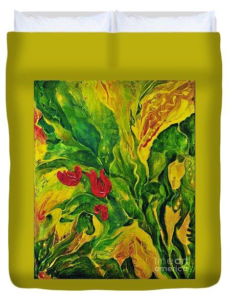 Garden Series No.2 Duvet Cover by Teresa Wegrzyn
