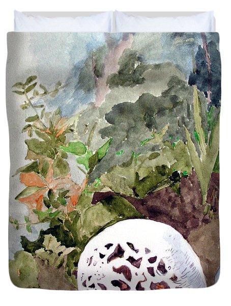 Garden Snail Duvet Cover