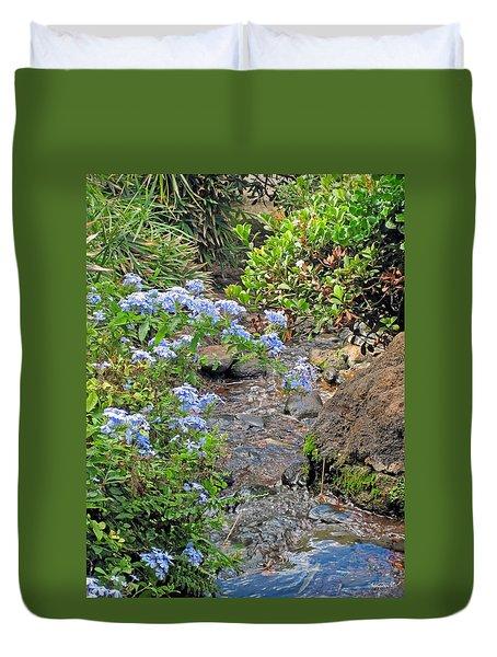 Garden Stream Duvet Cover