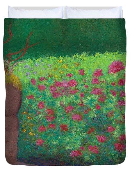 Garden Welcoming Duvet Cover