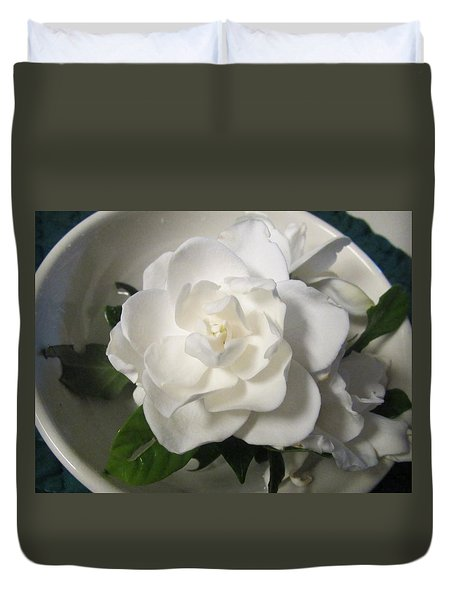Gardenia Bowl Duvet Cover