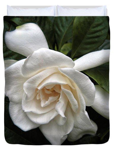 Gardenia Duvet Cover by Jessica Jenney