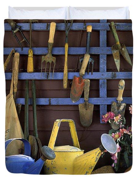 Gardening Tools - Fm000055 Duvet Cover