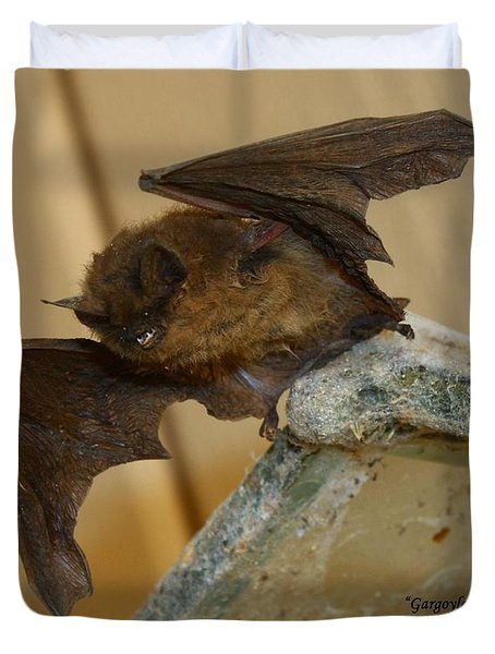 Gargoyle Bat Duvet Cover