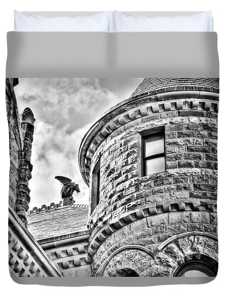 Gargoyle Duvet Cover by Mark Alder