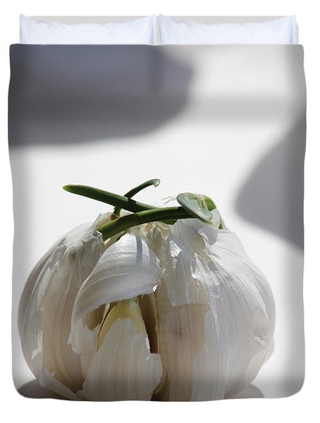 Garlic Clove Duvet Cover