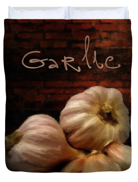 Garlic II Duvet Cover