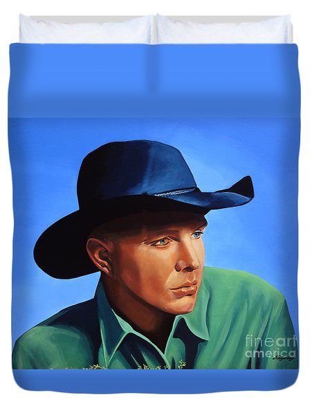 Garth Brooks Duvet Cover