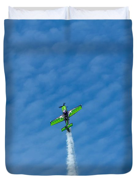 Gary Ward Taking His Mx2 To Great Heights Duvet Cover