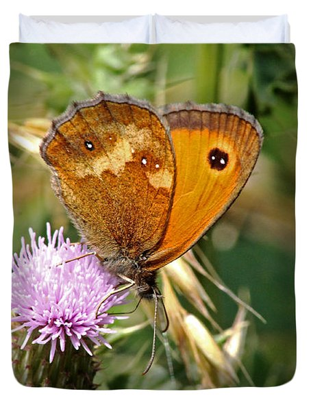 Gatekeeper Butterfly Duvet Cover