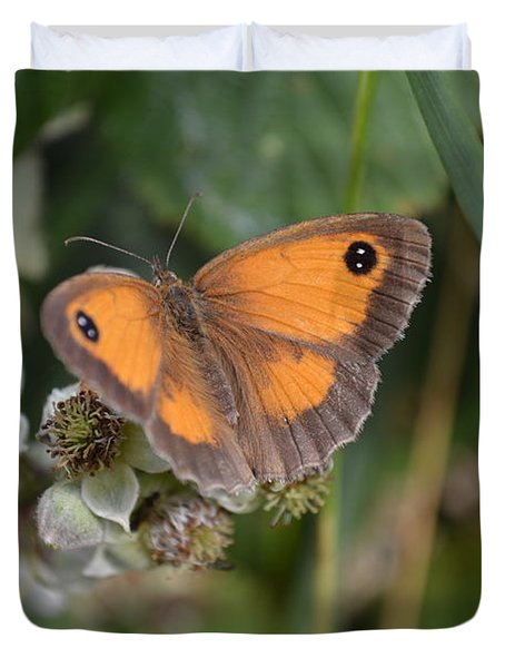 Gatekeeper Butteryfly Duvet Cover