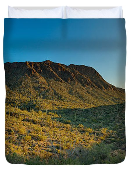 Gates Pass Sunrise Duvet Cover