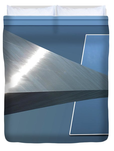 Gateway Arch St Louis 06 Duvet Cover by Thomas Woolworth
