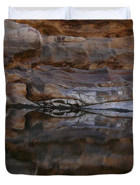 Gateway Duvet Cover by Evelyn Tambour