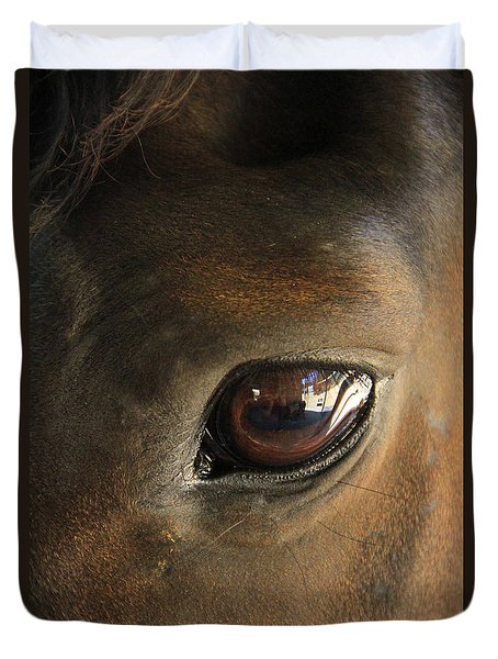Gateway To A Horses Soul Duvet Cover