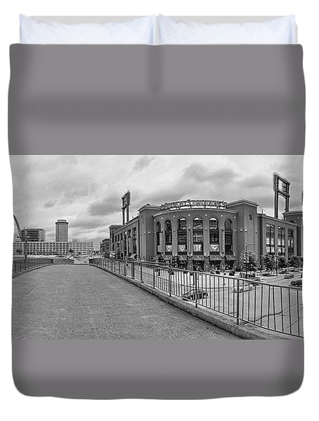 Gateway To Busch Black And White Duvet Cover