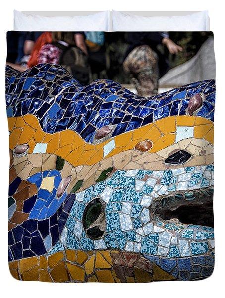 Gaudi Dragon Duvet Cover