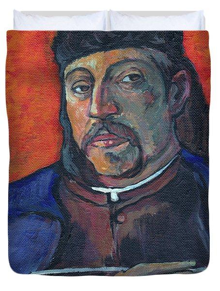 Gauguin Duvet Cover by Tom Roderick