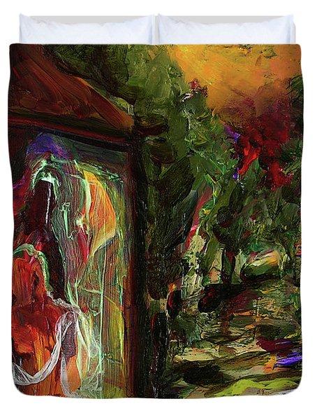 Gauguin's Polynesia  Duvet Cover