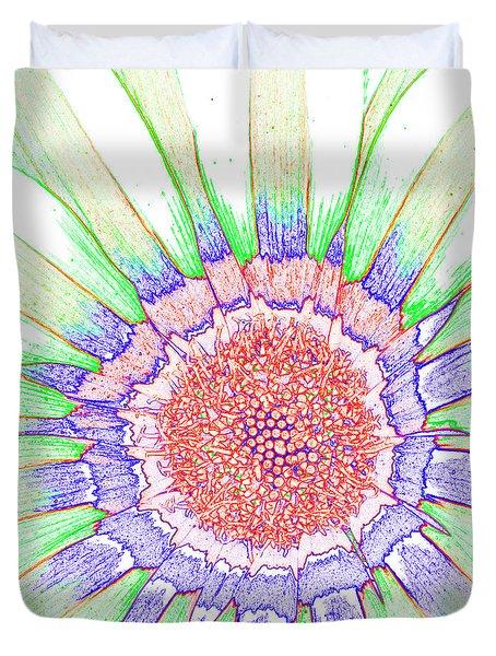 Gazania No.1 Duvet Cover