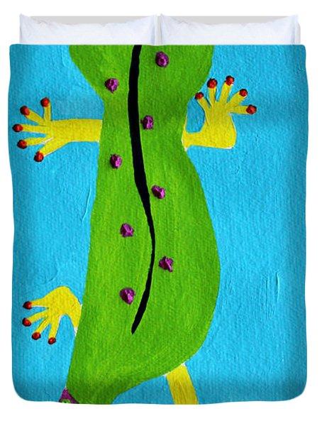 Gecko Gecko Duvet Cover