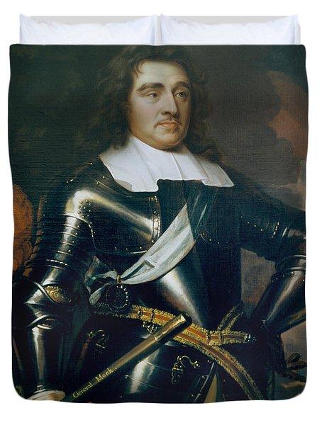 General George Monk 1st Duke Duvet Cover by Samuel Cooper