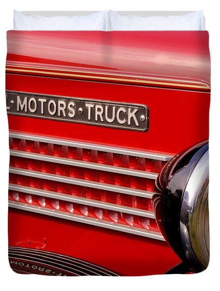 General Motors Truck Duvet Cover