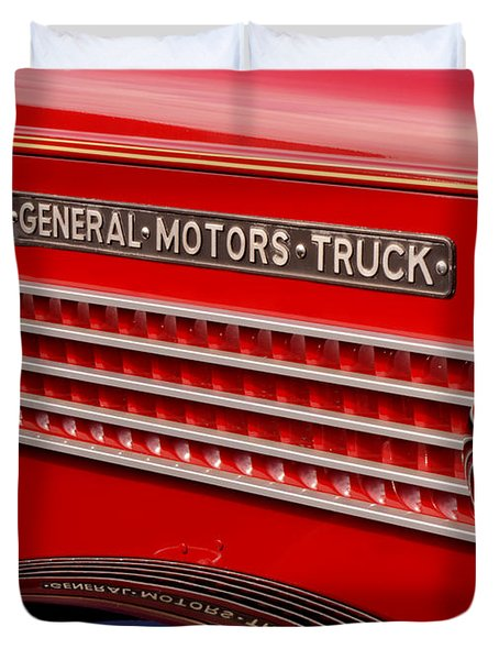 General Motors Truck Duvet Cover