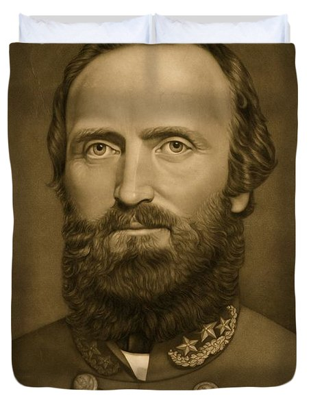 General Stonewall Jackson 1871 Duvet Cover by Anonymous