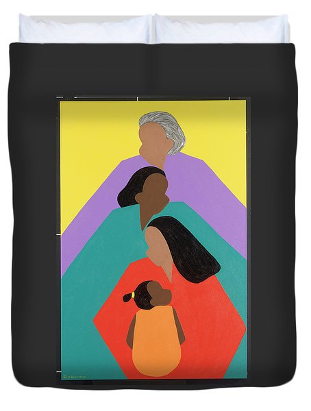 Generations Duvet Cover