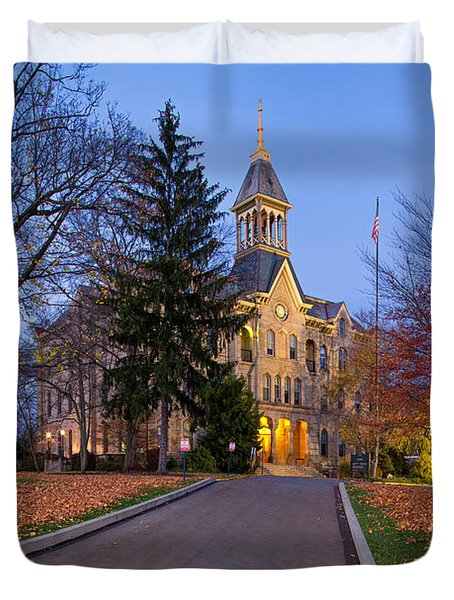 Geneva College Duvet Cover