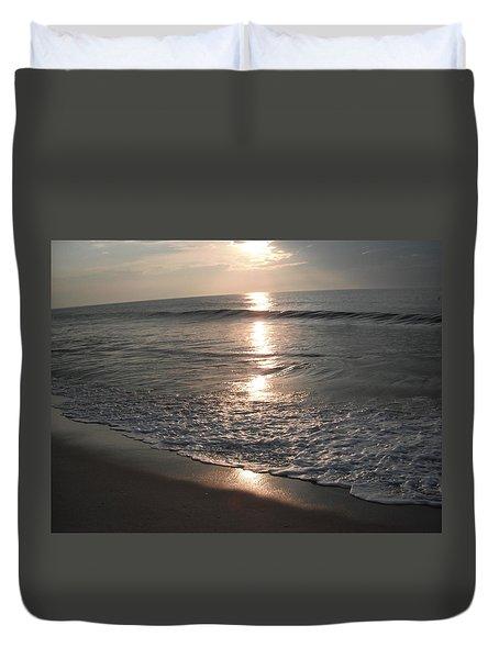 Ocean - Gentle Morning Waves Duvet Cover