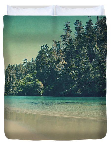 Gentle Musings Duvet Cover by Laurie Search