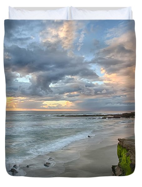 Gentle Sunset Duvet Cover