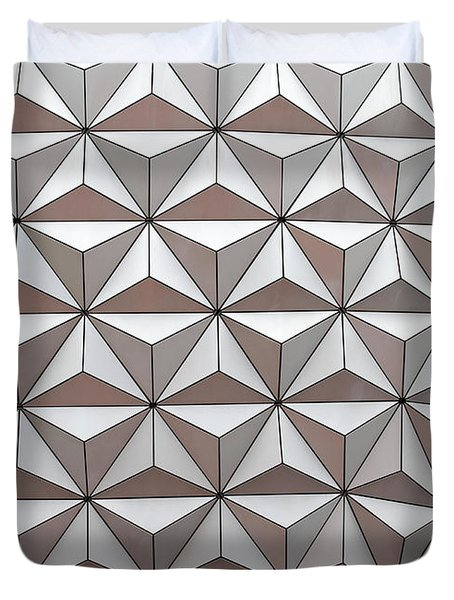 Geodesic Duvet Cover by Sabrina L Ryan