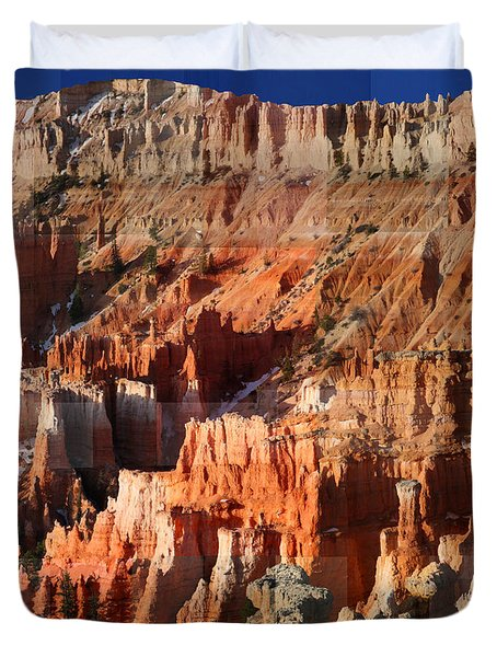 Geology Triptych - Three Duvet Cover
