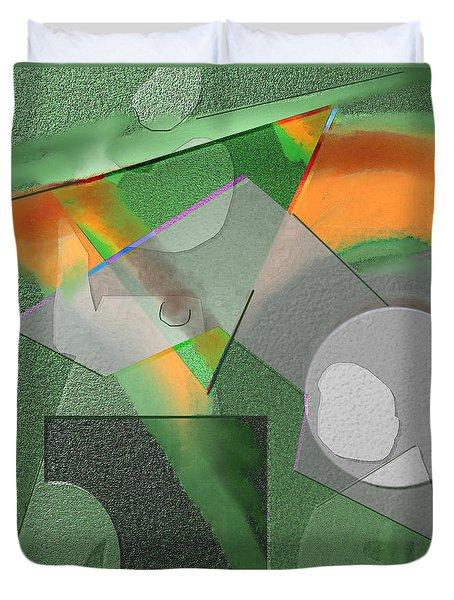 Geometrca 240 Duvet Cover by Nedunseralathan R