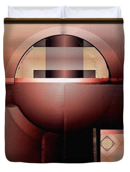 Geometric 191 Duvet Cover by Nedunseralathan R