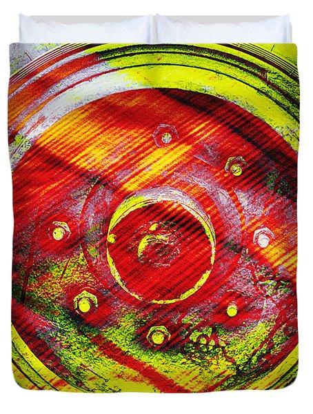 Geometric Colors  Duvet Cover
