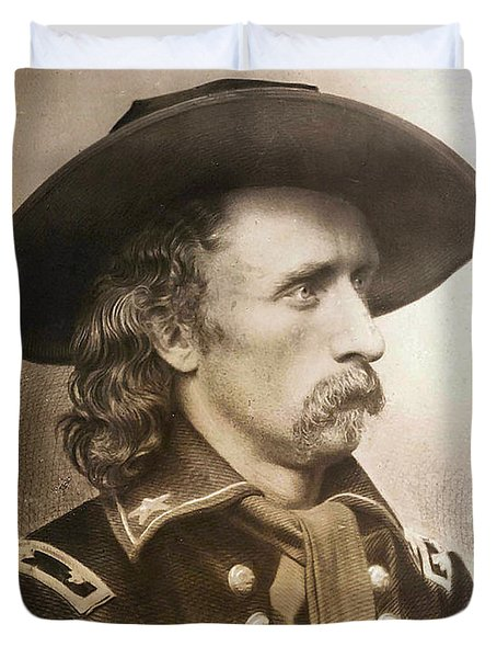 George Armstrong Custer Duvet Cover