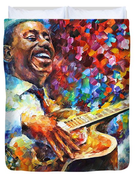Wes Montgomery Duvet Cover
