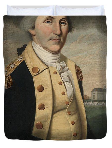 George Washington Duvet Cover by Charles Peale Polk